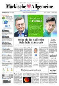 Märkische Allgemeine Luckenwalder Rundschau - 24. Juli 2018