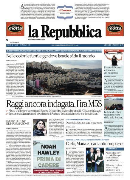 la Repubblica - 8 Febbraio 2017