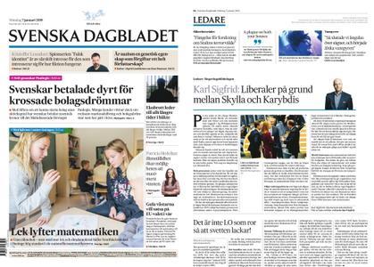 Svenska Dagbladet – 07 januari 2019