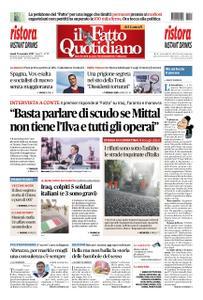 Il Fatto Quotidiano - 11 novembre 2019