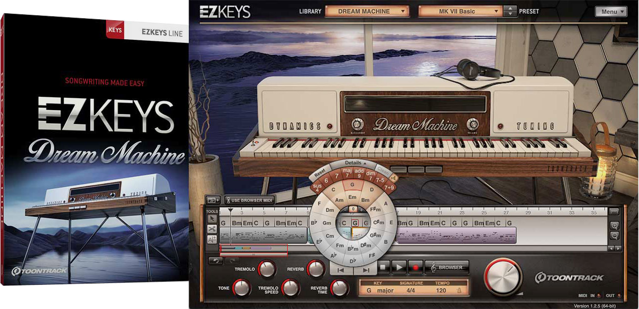 Toontrack EZkeys Dream Machine v1.0.0 WiN  OSX