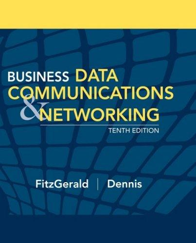 Business Data Communications & Networking (10th Edition)