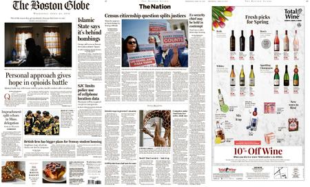 The Boston Globe – April 24, 2019