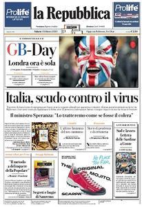 la Repubblica - 1 Febbraio 2020