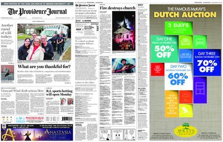 The Providence Journal – November 22, 2018