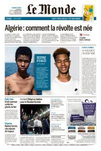 Le Monde du Dimanche 9 et Mardi 11 Juin 2019
