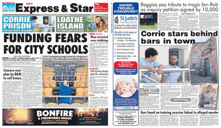 Express and Star City Edition – October 23, 2019