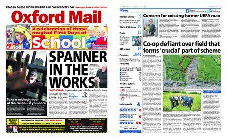 Oxford Mail – October 31, 2017