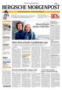 Solinger Morgenpost – 23. November 2018