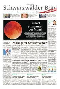 Schwarzwälder Bote Sulz - 27. Juli 2018