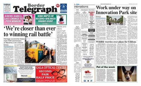 Border Telegraph – January 09, 2019