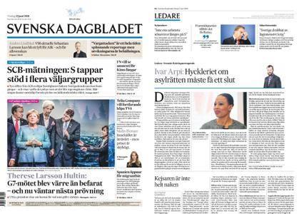 Svenska Dagbladet – 12 juni 2018