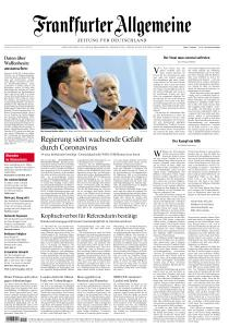 Frankfurter Allgemeine Zeitung - 28 Februar 2020
