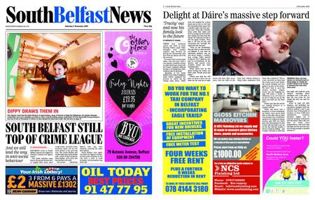 South Belfast News – November 02, 2018