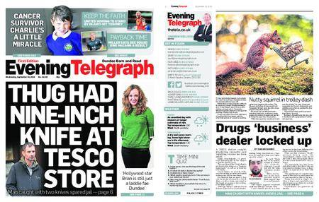 Evening Telegraph First Edition – September 19, 2018