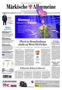 Märkische Allgemeine Luckenwalder Rundschau - 13. Oktober 2018