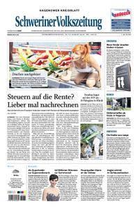 Schweriner Volkszeitung Hagenower Kreisblatt - 18. August 2018