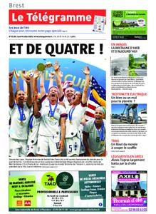 Le Télégramme Brest – 08 juillet 2019