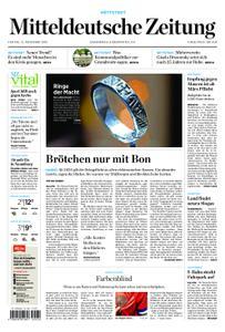 Mitteldeutsche Zeitung Mansfelder Zeitung Hettstedt – 15. November 2019
