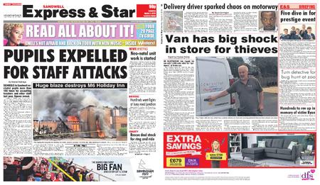 Express and Star Sandwell Edition – August 03, 2019