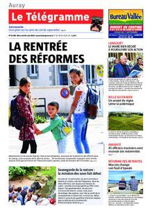 Le Télégramme Auray – 28 août 2019