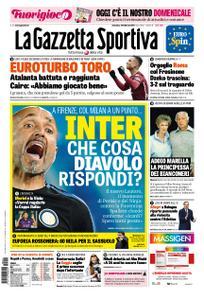 La Gazzetta dello Sport Roma – 24 febbraio 2019