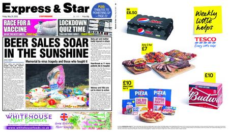 Express and Star Staffordshire Edition – May 29, 2020