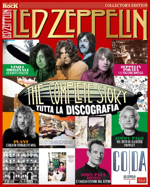 Classic Rock Monografie N.4 - Led Zeppelin - Maggio-Giugno 2017