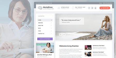 ThemeForest - MentalPress v1.9.2 - WP Theme for your Medical or Psychology Website. - 10676732