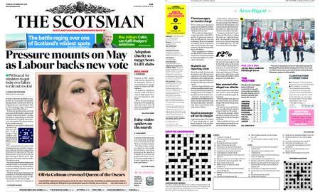 The Scotsman – February 26, 2019