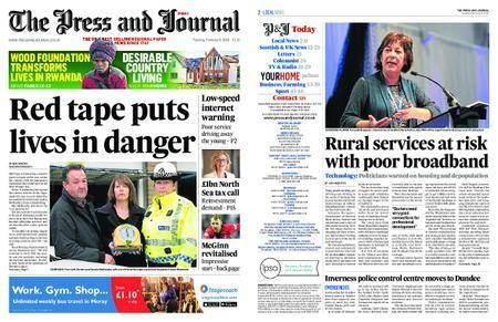 The Press and Journal Moray – February 06, 2018
