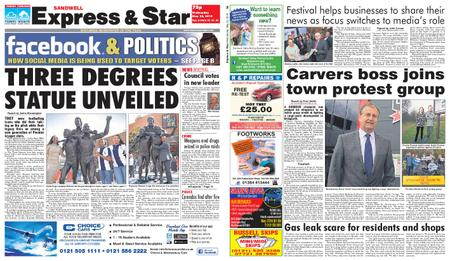 Express and Star Sandwell Edition – May 22, 2019