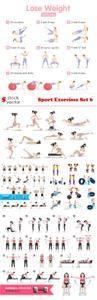 Vectors - Sport Exercises Set 6