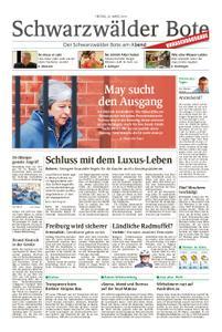 Schwarzwälder Bote Hechingen - 22. März 2019