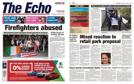 Evening Echo – October 30, 2019