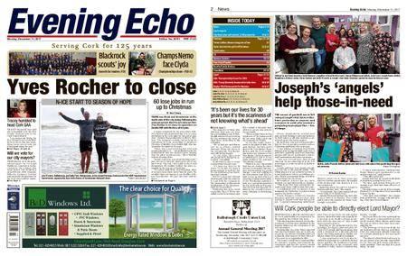 Evening Echo – December 11, 2017