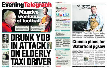 Evening Telegraph First Edition – March 23, 2018