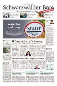 Schwarzwälder Bote Blumberg - 07. Februar 2019