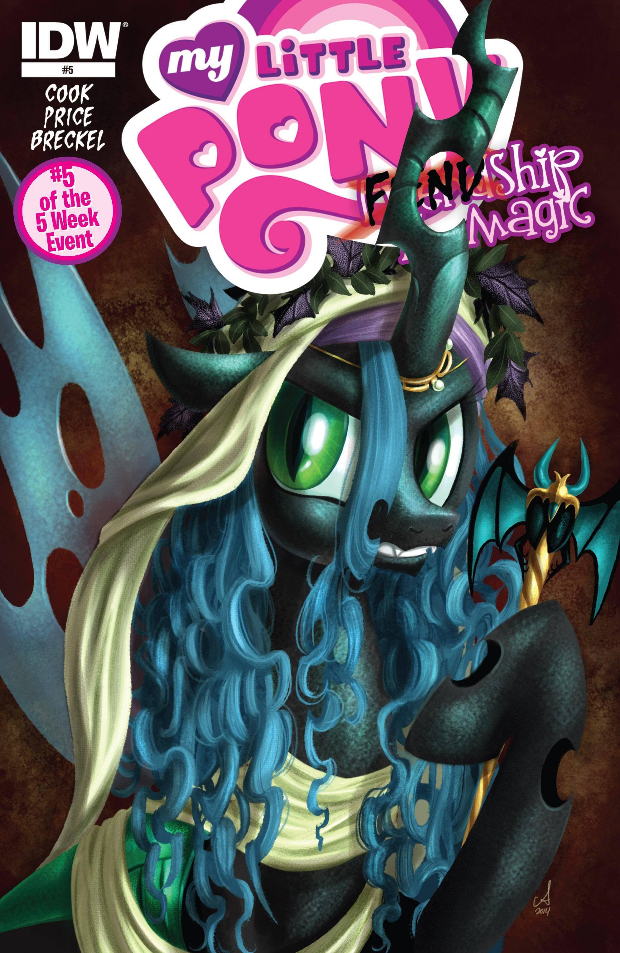 My Little Pony- FIENDship is Magic 005 - Queen Chrysalis 2015 digital