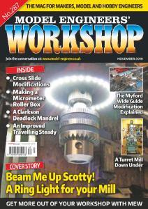 Model Engineers' Workshop Magazine - November 2019