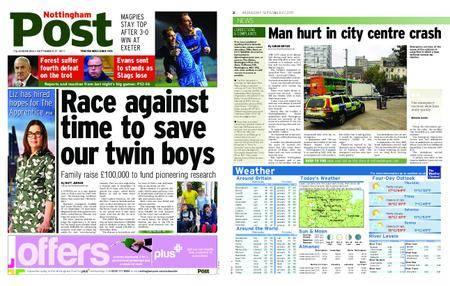 Nottingham Post – September 27, 2017