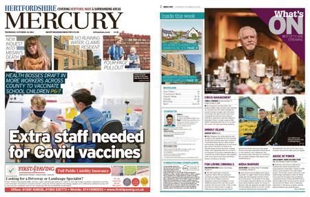 Hertfordshire Mercury – October 14, 2021