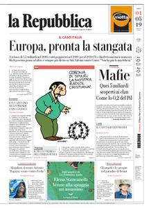 la Repubblica – 04 maggio 2019
