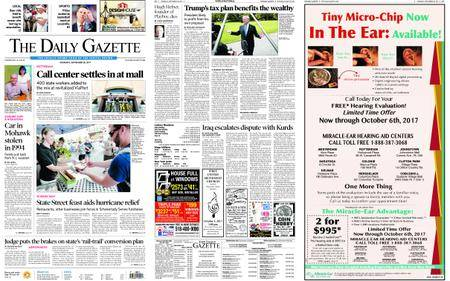 The Daily Gazette – September 28, 2017