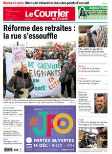 Le Courrier de l'Ouest Nord Anjou – 11 décembre 2019
