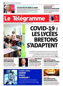 Le Télégramme Brest Abers Iroise – 07 novembre 2020