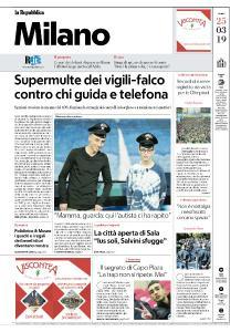 la Repubblica Milano - 25 Marzo 2019