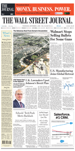 The Wall Street Journal – 04 September 2019