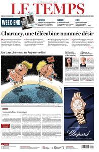 Le Temps - 14 décembre 2019