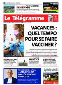 Le Télégramme Brest Abers Iroise – 12 mai 2021